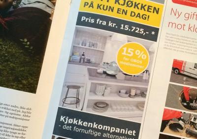Kjøkkenkompaniet AS – annonse