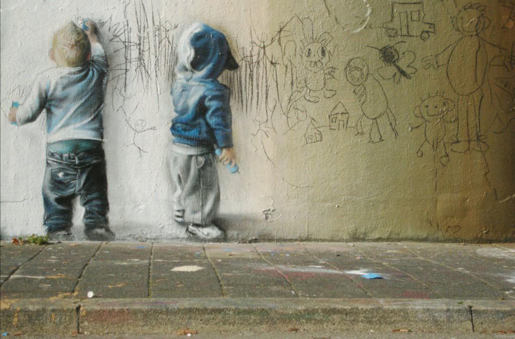 Grafitti – bare elsker dette bildet :)